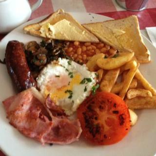 ארוחת בוקר אנגלית